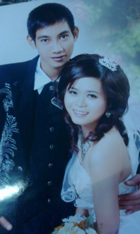 ngày tổ chức lễ cưới mình rất hạnh phúc