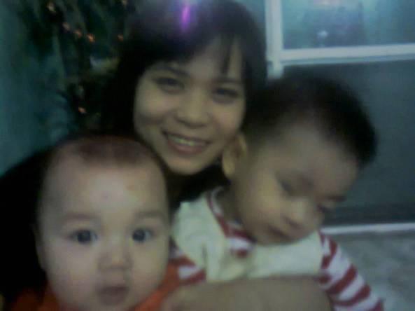 3 mẹ con mình